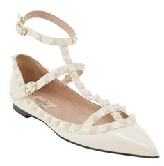 Valentino Punk couture cage flats