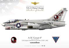 A-7E Corsair II VA-12 AG-403