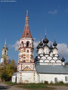Суздаль Лазаревская и Антипьевская церкви