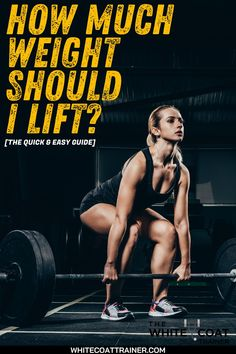 Should you lift 'light' weights for high reps? Or should you lift heavy weight for lower reps? In this post, you are going to learn how much weight you should lift to accomplish your fitness goals and why it should change over time. The amount of weight you should lift should coincide with your goals. Take a look at these quick and Easy guide on weight selection #weightlift #weightguide Heavy Weight Lifting, Weight Lifting Workouts, Fit Board Workouts, Lift Heavy, Gym Workouts, Weight Loss, Fitness Diet, Fitness Goals, Fitness Motivation