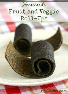 Sugar-free, vegan, candida diet fruit and veggie roll-ups recipe