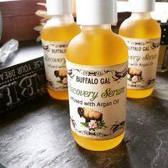 Organic ARGAN OIL Recovery Serum // toxin free moisture for All Skin Types// Organic Vegan Cruelty Free Natural Skincare