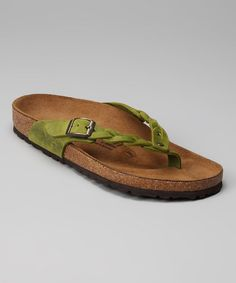 Take a look at this Peridot Adria Flip-Flop by Tatami by Birkenstock on #zulily today!