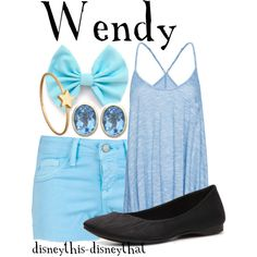"""""""Wendy"""" by disneythis-disneythat on Polyvore"""