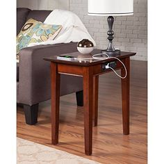 Indoor Multi-Function Accent Table Study Computer Home Office Desk Bedroom Living Room Modern Style End Table Sofa Side Table Coffee Table Rubber wood terminal table Living Room Modern, Living Room Chairs, Living Room Furniture, Dining Chairs, Chair Side Table, Sofa End Tables, Mission Chair, Atlantic Furniture, Black Furniture
