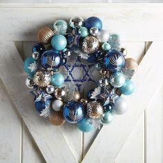 24 Hanukkah Home Geschenke zum Fest der Lichter, Hanukkah Bush, Feliz Hanukkah, Hanukkah Crafts, Jewish Crafts, Hanukkah Decorations, Christmas Hanukkah, Hannukah, Happy Hanukkah, Holiday Crafts