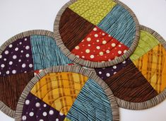 Jennifer Jangles Blog: Oversized Coasters Pattern