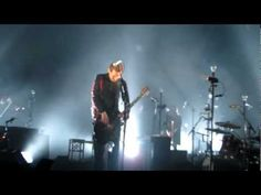 Sigur Ros. Saw them on Leno recently. Hypnotic and unlike anything I've heard before