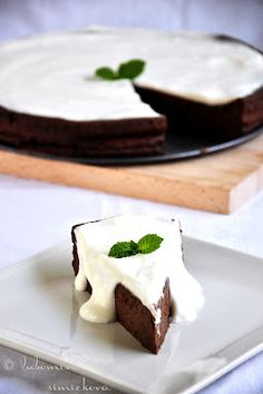 chocolate quark cake