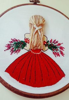 florist girl handmade embroidery - 8 inc - Modern Embroidery , flowersembroidery, hoopart, wallart, Basic Embroidery Stitches, Hand Embroidery Videos, Embroidery Flowers Pattern, Creative Embroidery, Simple Embroidery, Hand Embroidery Stitches, Modern Embroidery, Embroidery Hoop Art, Crewel Embroidery