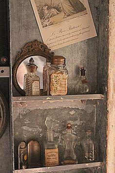 vintage, old, bottle