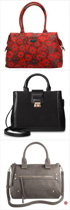 Shop Target for satchels you will love at great low prices. Free shipping on orders of $35+ or free same-day pick-up in store. Trendy Handbags, Best Handbags, Lv Handbags, Burberry Handbags, Handbags Michael Kors, Fashion Handbags, Fashion Bags, Women's Fashion, Designer Purses And Handbags