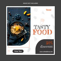 Food Graphic Design, Food Poster Design, Graphic Design Trends, Poster Designs, Banner Design Inspiration, Web Banner Design, Web Design, Social Media Banner, Social Media Template
