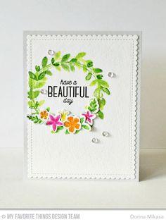 Spring Wreath, Spring Wreath Die-namics, Blueprints 27 Die-namics - Donna Mikasa  #mftstamps