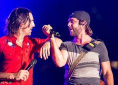 Jake Owen and Thomas Rhett  - Summer Block Party, Nashville, TN 8/19/2013 photo credit William McClintic