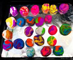 Mindfulness Art Activities for Kids to Use to Calm Down Art Activities For Kids, Sensory Activities, Learning Activities, Mindfulness Art, Mindfulness Activities, Marble Painting, Outdoor Learning, Feeling Stressed, Calm Down
