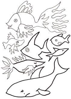 Malvorlagen: Tiere: Fische, Mamas and More - von Mamas für Mamas