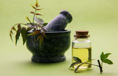 Home Remedies For Dandruff - Neem And Olive Oil