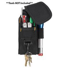 CLC 1105 5 Pocket Cell Phone & Tool Holder - https://www.boatpartsforless.com/shop/clc-1105-5-pocket-cell-phone-tool-holder/