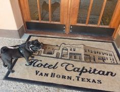 El Capitan owners, Lanna and Joe Duncan, travel with 3 dogs, 2 cats and a bird- so its no surprise that the hotel is imminently pet friendly.