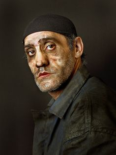The Last Coal Miners of Spain - Angel The photos, in close up, look Renaissance.