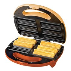 Amazon.com: Nostalgia Electrics CSM-600 Electric Churros Maker: Deep Fryers: Kitchen & Dining
