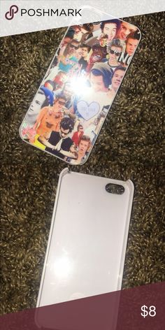 One Direction Harry Styles Collage iPhone 5s case Harry Styles iPhone 5s case. Very good quality. In great condition and super cute!! || NOT FOREVER 21|| Forever 21 Other
