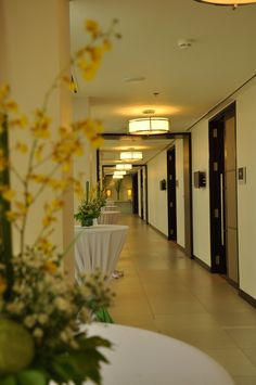 Hallway at 6F Meeting Room Area of Quest Hotel