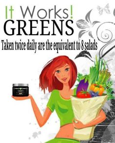 Not eating your fruits and vegetables like you should? Get what you are missing with Greens, a delicious orange-flavored, alkalizing drink powder with the nutritional value of 8+ servings of fruits and vegetables in each serving.  Contact me at koko2wrapu@gmail.com or check out my website at: https://koko2wrapu.myitwork.com