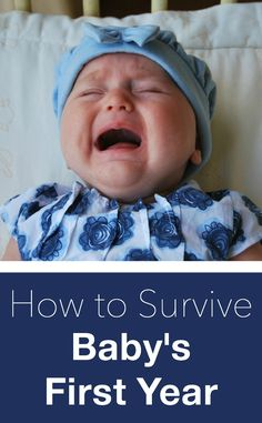 The number one piece of advice for surviving baby's first year. A must-read for all parents-to-be! #parenting #babies #kids