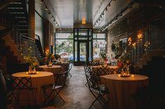 A New Leaf Chicago Wedding Nestled Inside A Florist Shop | Photograph by Megan Saul Photography