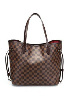 Louis Vuitton Neverfull Mm Handbag Purse. Damier Ebene Canvas Tote Bag. Get one of the hottest styles of the season! The Louis Vuitton Neverfull Mm Handbag Purse. Damier Ebene Canvas Tote Bag is a top 10 member favorite on Tradesy. Save on yours before they're sold out!