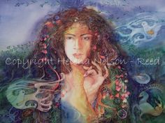 Goddess Paintings - helena-nelson-reed