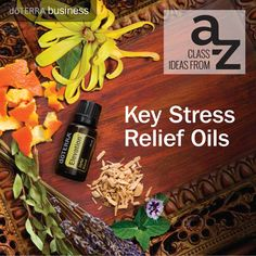 Did you know that there are various essential oils you can use to get some relief from stress?