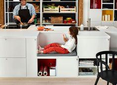 Cuisine à composer pour passer de bons moments en famille - Ikea : le meilleur des nouveautés 2015 en 30 photos - CôtéMaison.fr