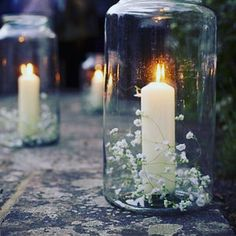 Beautiful candles for reception tables! #weddingstyle #weddingdetails #wedding #weddingfun #weddingnapa #napawedding #vinyardwedding #rusticwedding #barnwedding #barn #weddingcandles