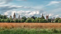 A beautiful view of the Oxford skyline from Christ Church Meadow, by @enrico_salvati (DPhil Engineering Science, Trinity College). Have a great weekend everyone! #oxfordskyline #christchurchmeadow #oxforduniversity #dreamingspires #oxford