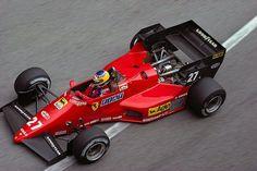 Michele Alboreto,Ferrari 126C4 - Montecarlo 1984