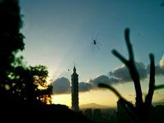 Taipeh 101 Sundown