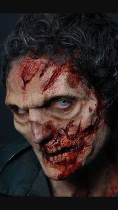 Do it yourself special effects makeup 3rd degree silicone and a walking dead man like zombies solutioingenieria Gallery