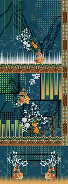 winter vibes on Behance Pattern Art, Pattern Design, Print Design, Textiles Techniques, Flower Phone Wallpaper, Design Seeds, Apple Wallpaper, Album Design, Border Design