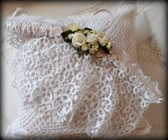 lace hanger - my  shabby whtie home