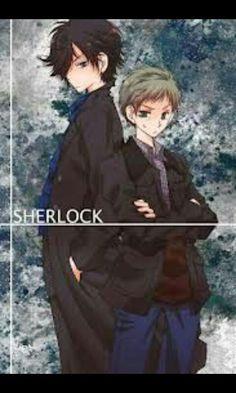 Sherlock and John! Sherlock Anime, Sherlock Doctor Who, Sherlock Bbc, Sherlock Cumberbatch, Benedict Cumberbatch, Sherlock Holmes John Watson, Holmes Movie, Benedict And Martin, 221b Baker Street