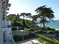 Magnifique Villa surplombant la plage de Saint Enogat ! #Dinard #CôteEmeraude #Bretagne