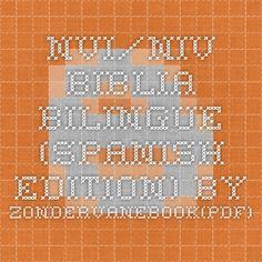 NVI/NIV Biblia bilingue (Spanish Edition) by ZondervanEbook(PDF) EPUB Free Download ~ Download Paid E-Books For Free