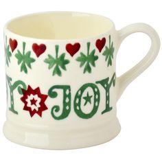 Christmas Joy Mini Mug Unfilled
