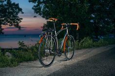 Classic Tour - Model Ø   Budnitz Bicycles Gallery   High End Belt Drive Titanium…