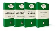 The Green Popular Penguins Story ... In 1935 the Penguin was born, but it took until the late 1940s for the Crime and Mystery series to emerge. The genre thrived in the post-war austerity of the 1940s, and reached heights of popularity by the 60s. Suspense, compelling plots and captivating characters ensure that once again you need look no further than the Penguin logo for the scene of the perfect crime.