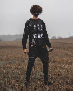 Pastel Goth Fashion, Dark Fashion, Steampunk Fashion, Gothic Fashion, Mode Dope, Style Japonais, Cyberpunk Fashion, Hip Hop Fashion, Grunge Outfits