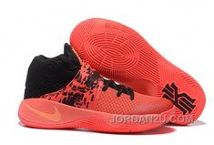 timeless design 0ae15 74fd0 Find Quality Nike Kyrie 2 Inferno Bright Crimson Atomic Orange-Black  Discount and preferably on W